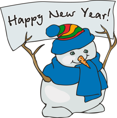 Happy-New-Year-Snowman